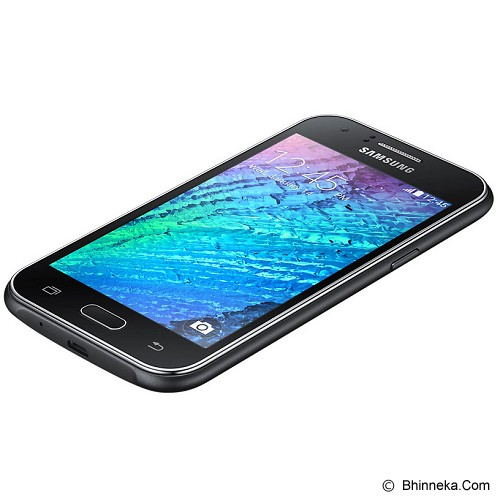 SAMSUNG Galaxy J1 [SM-J100H] - Black - Smart Phone Android